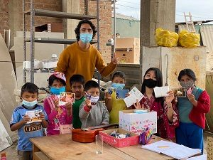Jun.22①あべのマスク、ペルーの子ども達へ…